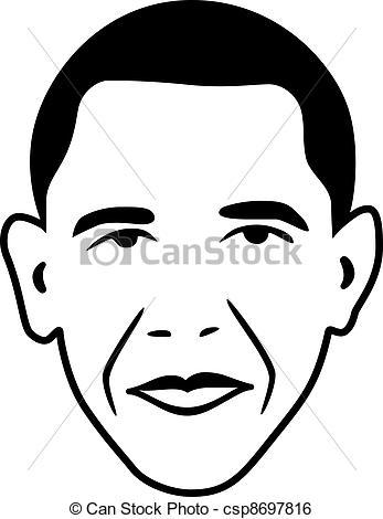 Vector Barack Obama - President Of Usa