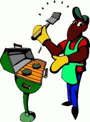 Barbeque Clip Art. u0026quot;
