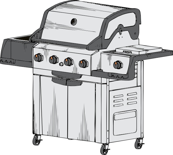 Barbeque Grill clip art