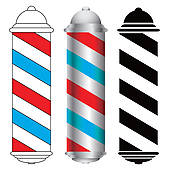 barber shop pole ...