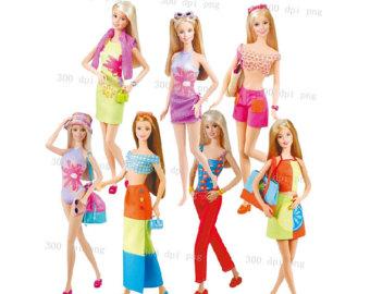 Barbie Digital Clipart Png Files Clip Ar-Barbie digital clipart png files Clip Art Images Instant Download-9