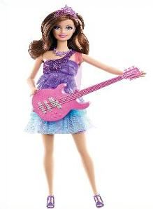 Barbie Doll with a guitar