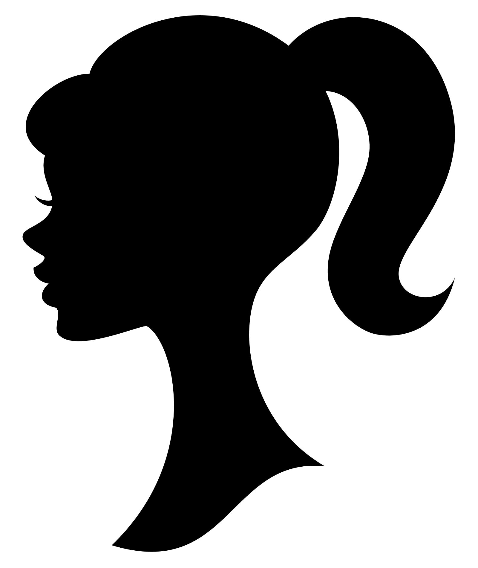 ... Barbie Silhouette Clipart ...-... Barbie Silhouette Clipart ...-12