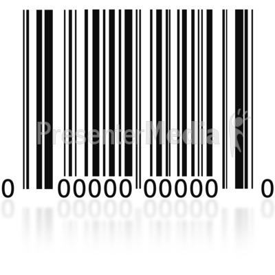 Barcode PowerPoint Clip Art