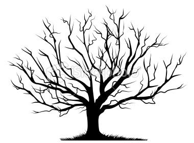 Bare Tree Clipart-bare tree clipart-1