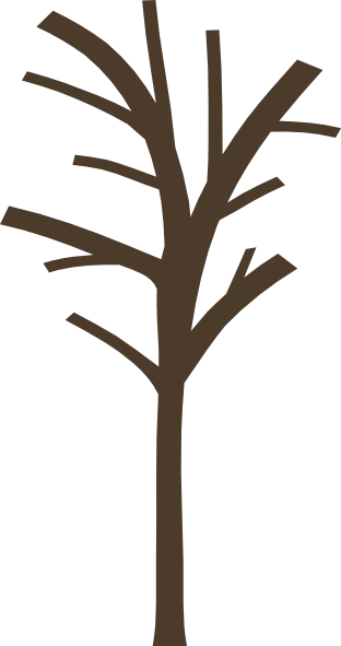 Bare Tree Clip Art Image ... Download this image as: