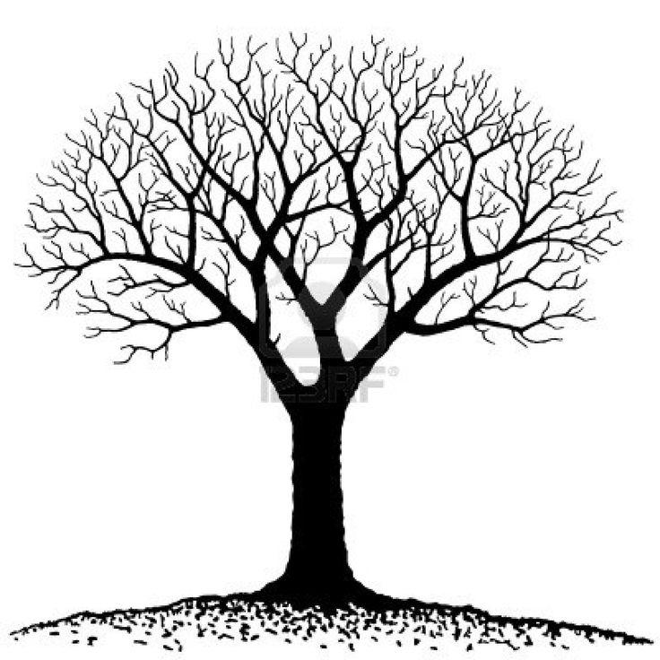 Bare Tree Royalty Free Clipar - Clip Art Family Tree