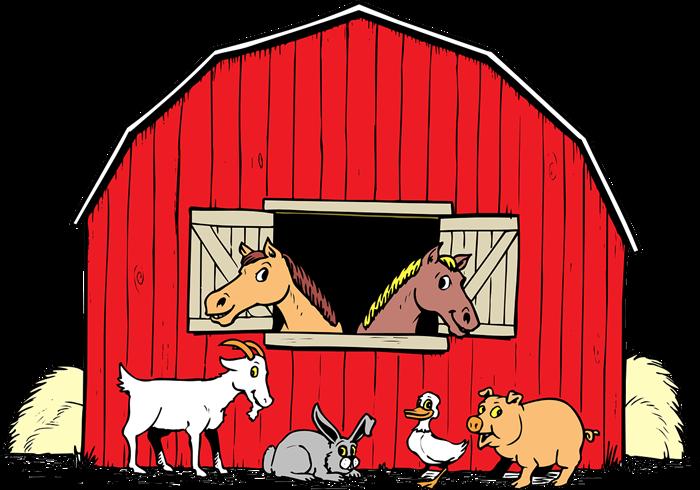 Barn Animals Clipart Clipart Kid-Barn animals clipart clipart kid-2