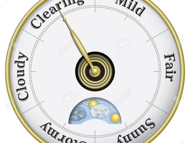 Barometer Clipart cartoon