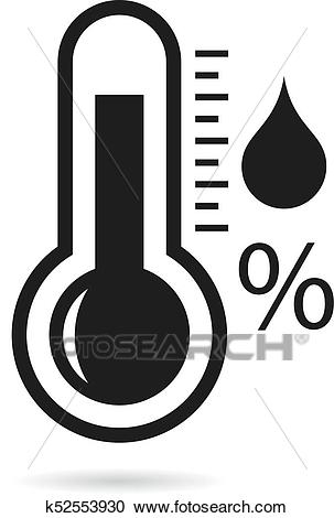 Barometer vector icon isolated on white background