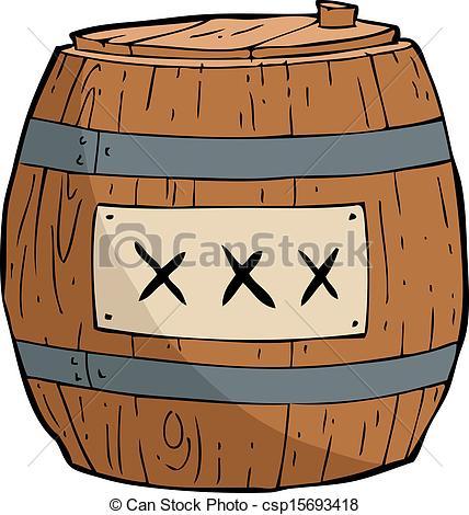 ... Barrel of gunpowder on a white background vector... Barrel of gunpowder Clipartby ...