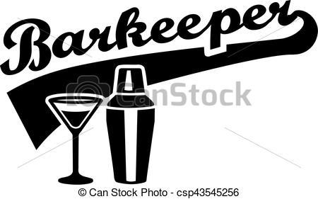Barkeeper Bartender Barman - csp43545256