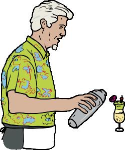 Bartender Clip Art - Bartender Clipart