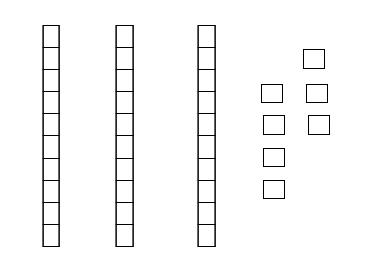 Base Ten Blocks Represent Wha - Base Ten Blocks Clip Art