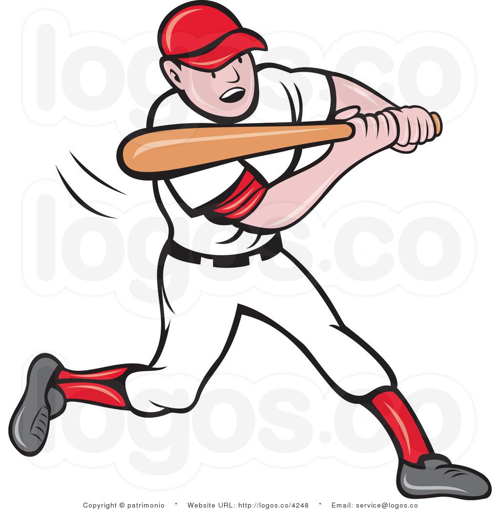 Baseball Player Clip Art