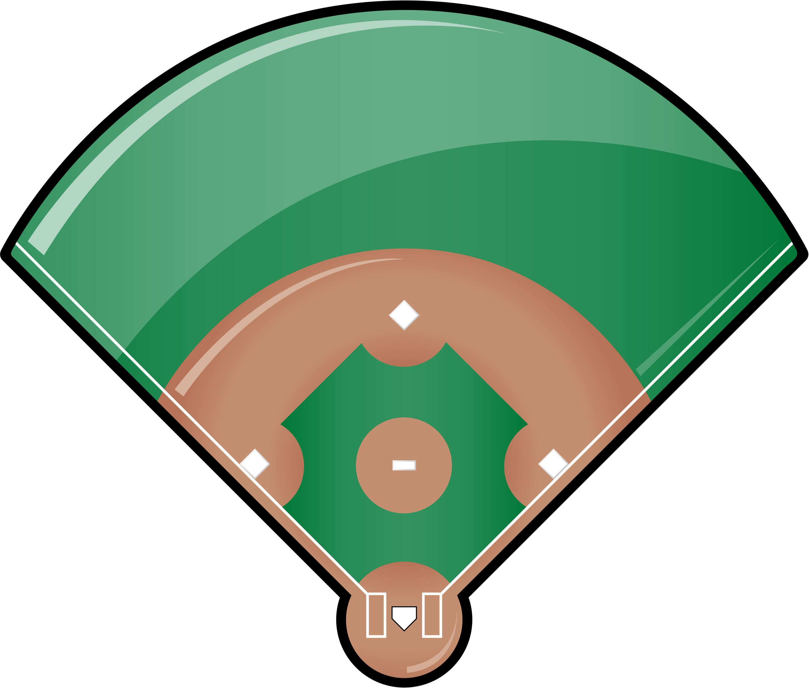 Baseball Field Clipart-baseball field clipart-4