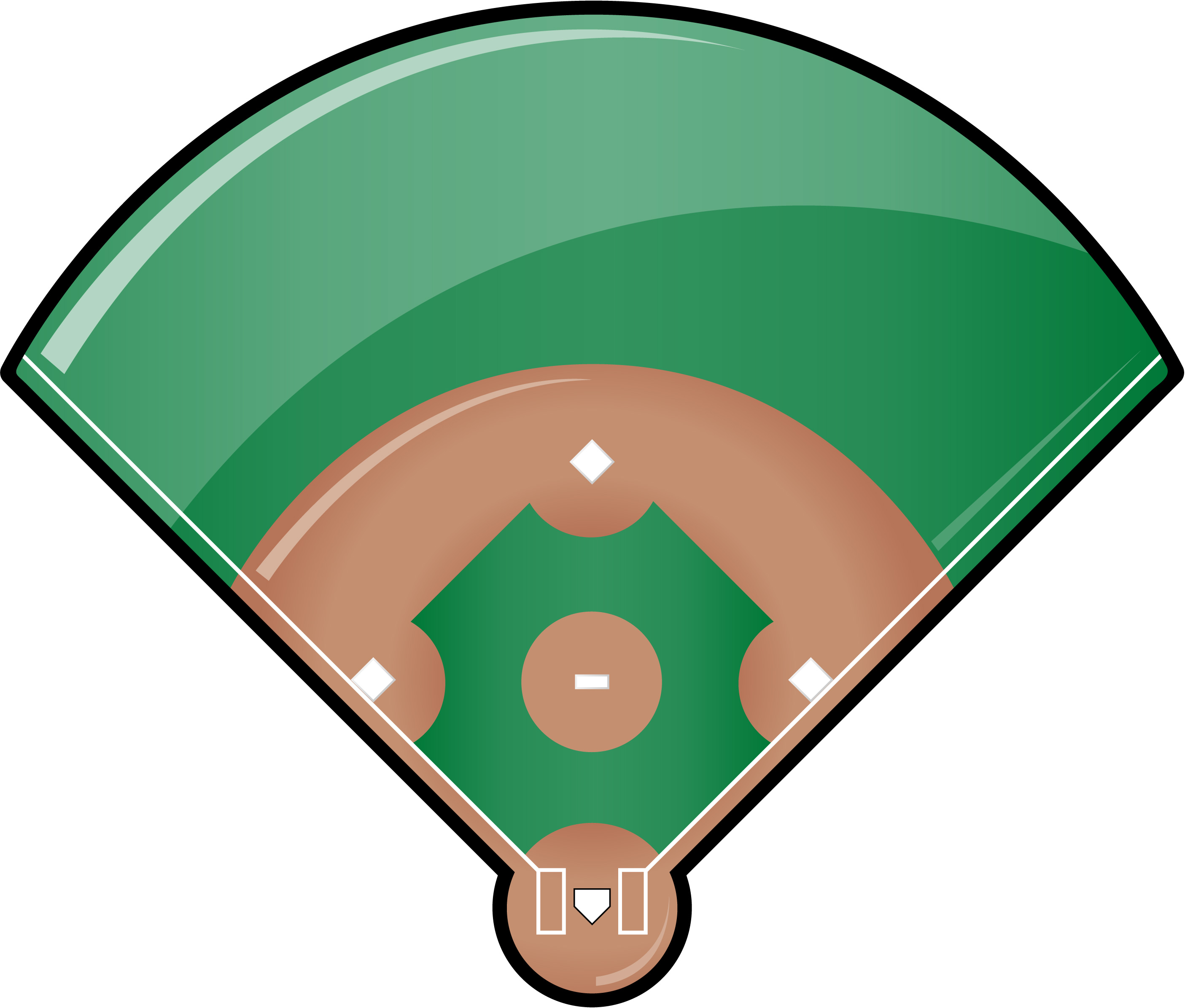 Baseball Field Clipart-baseball field clipart-2