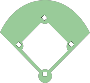 Baseball Field Clipart-baseball field clipart-3