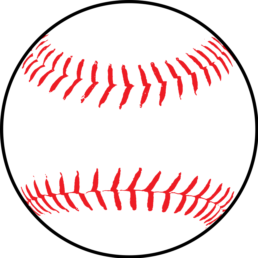 Baseball ball clipart - .