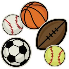 Baseball Ball Clipart ... Sports on bodysuit toddler .