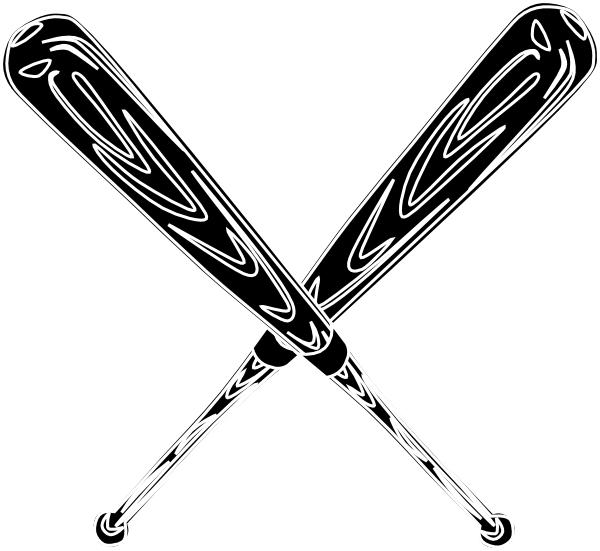 Baseball Bat Black Clip Art At Clker Com-Baseball Bat Black Clip Art At Clker Com Vector Clip Art Online-2