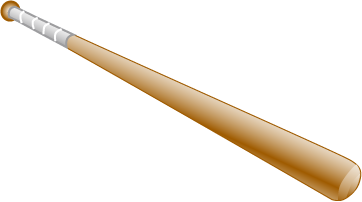 Baseball Bat Clip Art Free