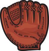 baseball bat glove; silhouette baseball -baseball bat glove; silhouette baseball glove; baseball glove clipart-11