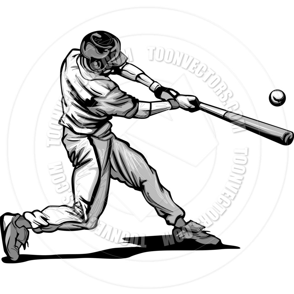 Baseball Batter Clipart Image - Baseball Batter Clipart