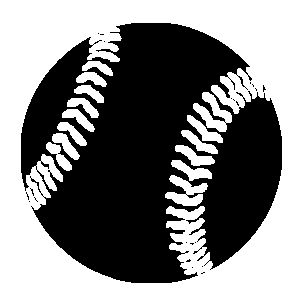 Baseball black and white 0 images about centennial ref pics on clipart