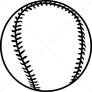Baseball black and white phot - Baseball Clipart Black And White