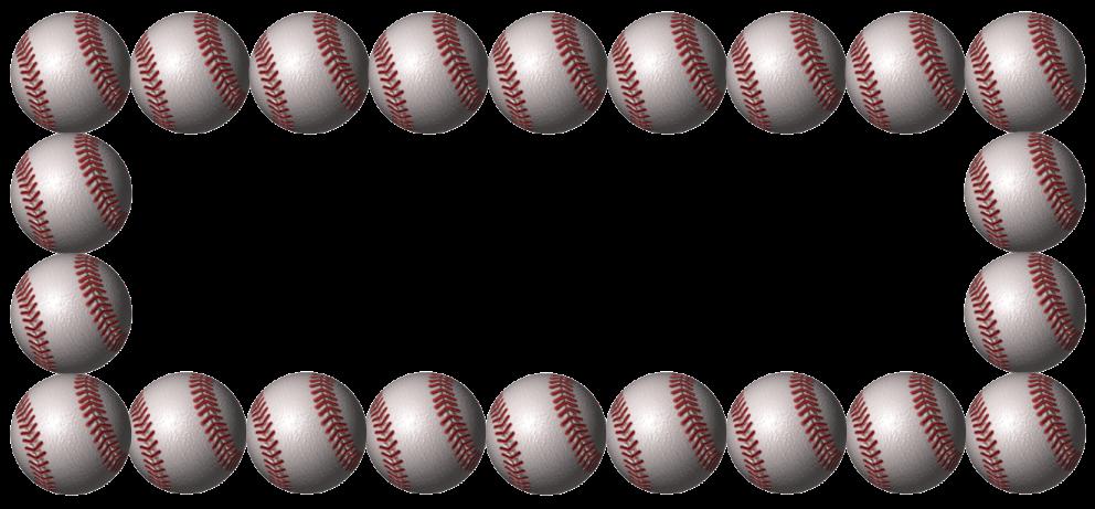 Free Baseball Border Free Cli