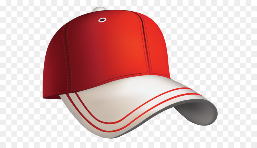 Baseball cap Clip art - Red Baseball Cap Clipart