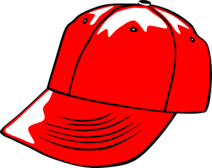 Baseball Cap Red Clip Art