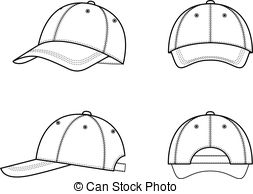 . ClipartLook.com Baseball cap - Vector illustration of a baseball cap from.