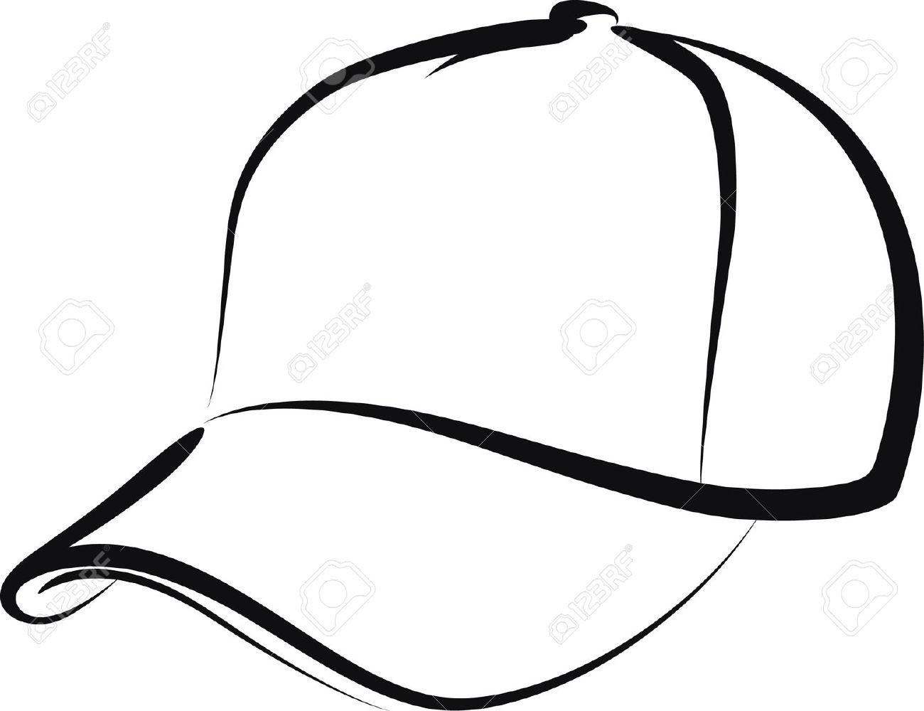Baseball Cap Clipart - .-Baseball Cap Clipart - .-4