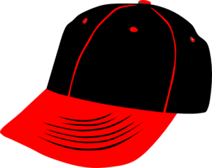 Baseball hat clipart front: B - Baseball Cap Clipart