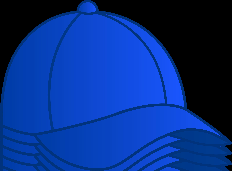 Blue Clip Art. clipart gratui - Baseball Cap Clipart