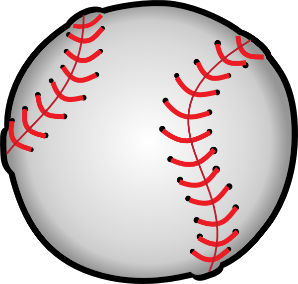 Baseball Clip Art At Clker Com Vector Clip Art Online Royalty Free