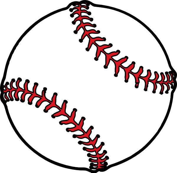Baseball Thick Boarder Clip Art at Clker clipartlook.com - vector clip art online,  royalty free u0026 public domain