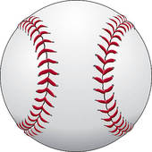 Baseball Vector Graphic Template; Baseball