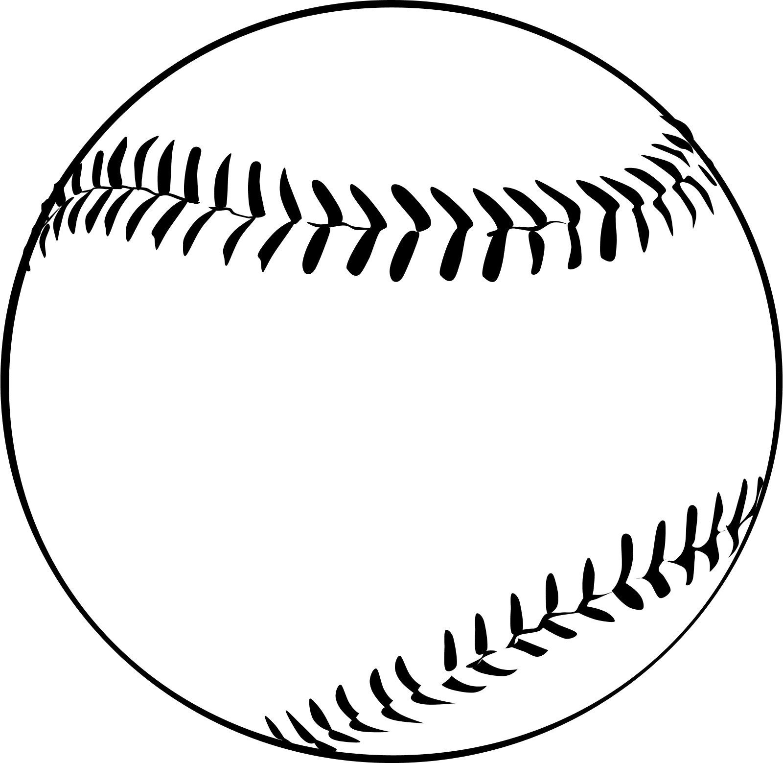 Baseball Clipart Vector .