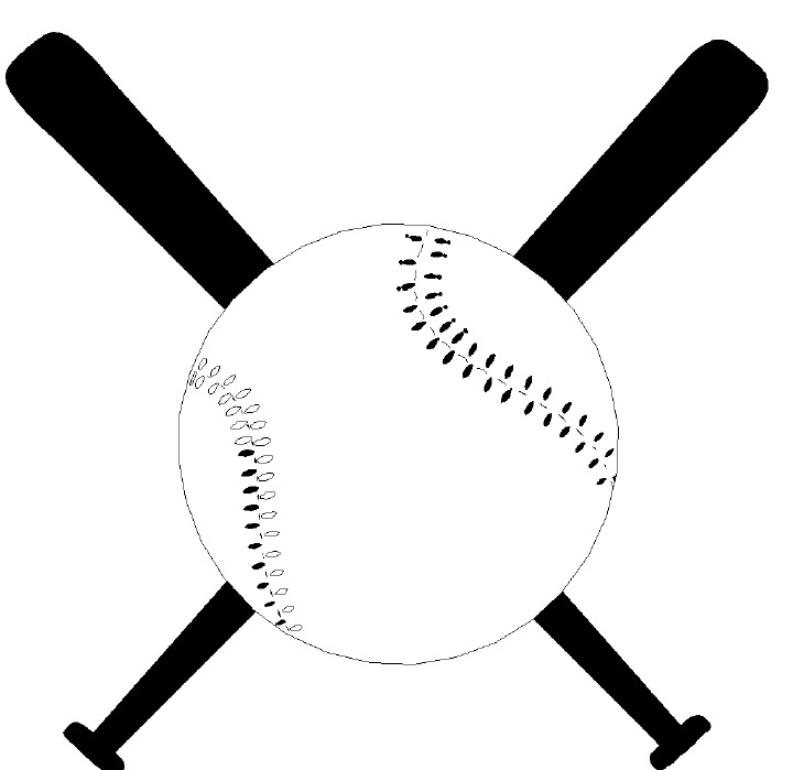 Baseball Crossed Bats Clipart . Index Of-Baseball Crossed Bats Clipart . Index of /. Baseball Bat .-6