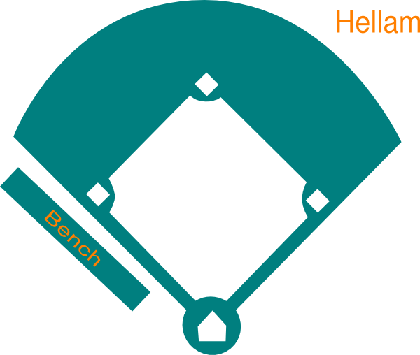 Baseball Diamond Clipart Free-Baseball Diamond Clipart Free-6