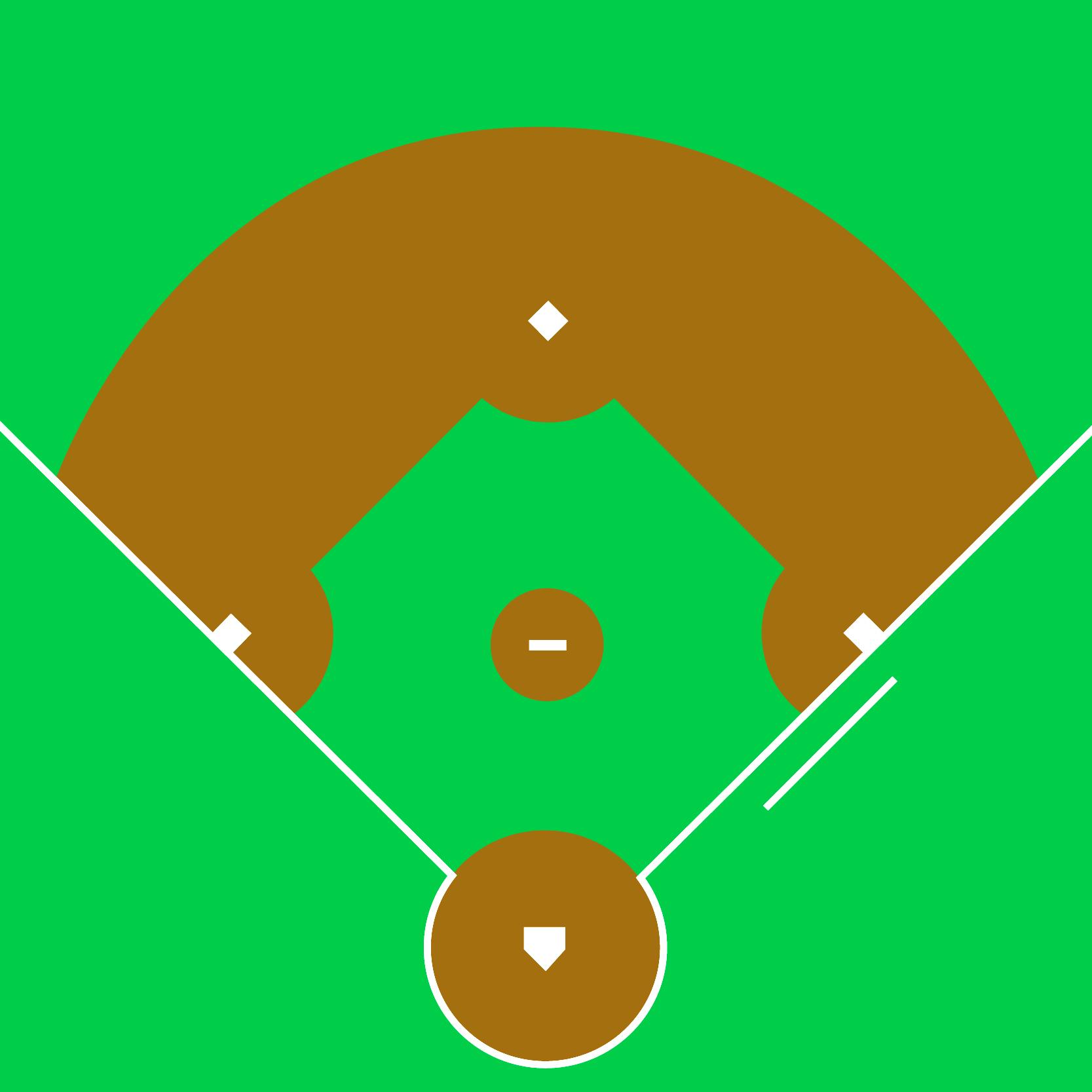 Baseball Diamond Images Baseball Diamond And Bats On