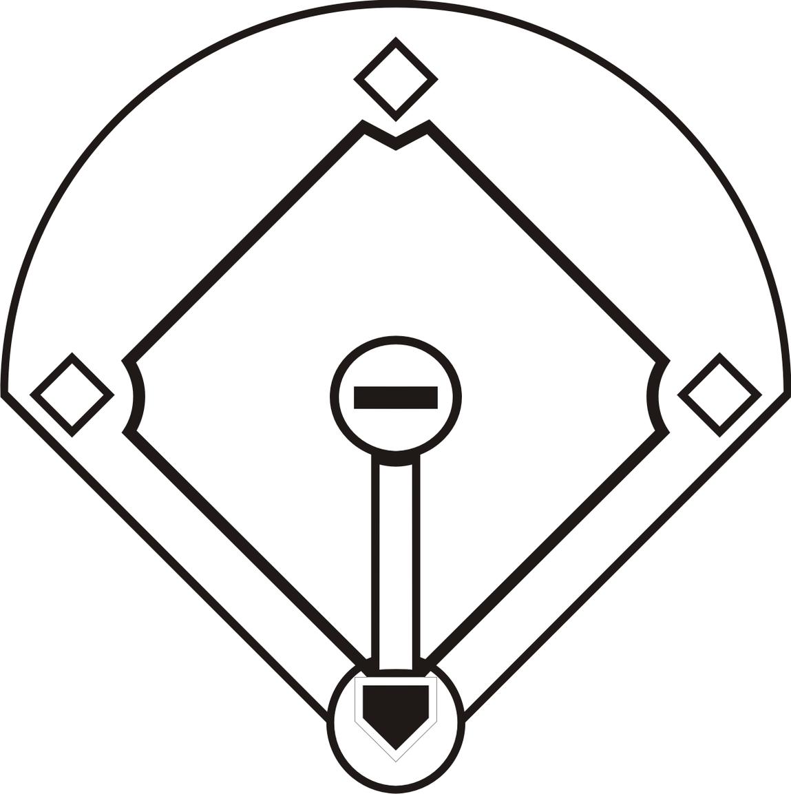 Baseball Field Clip Art-baseball field clip art-8