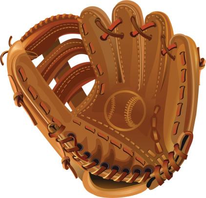Baseball glove clip art clipartall