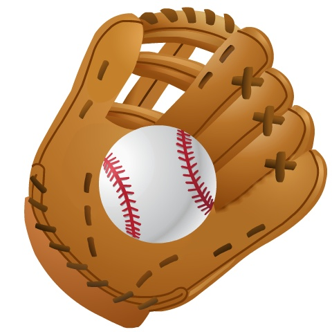 Baseball glove clipart free clipartall