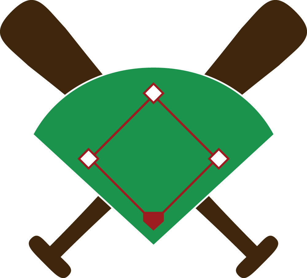 Baseball Image Diamond With Infield Outf-Baseball Image Diamond With Infield Outfield And Clipart Free-11