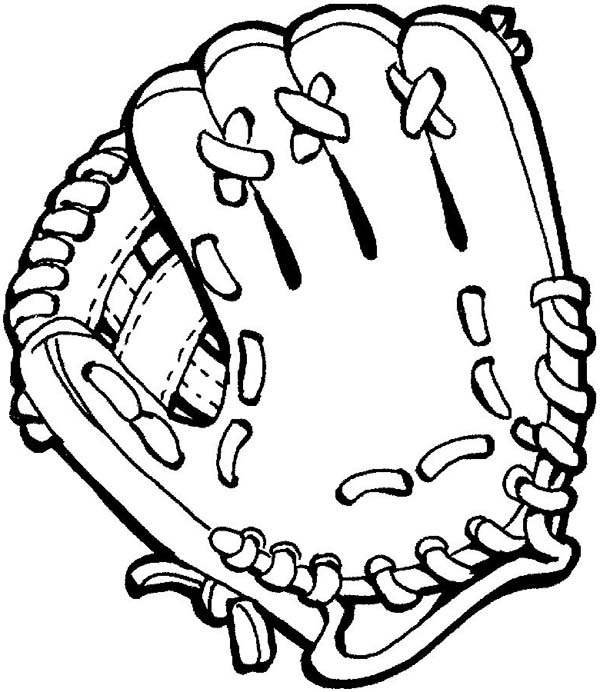 Baseball Mitt Baseball Glove Clipart Bla-Baseball mitt baseball glove clipart black and white-12