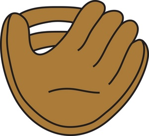 Baseball mitt clipart hostted
